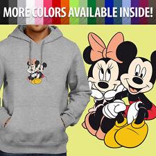 Disneyland Minnie Mickey Mouse Disney Couple Pullover Sweatshirt Hoodie Sweater