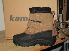 KAMIK WinterStiefel Stiefel SNOWBERRY Boots Wildleder wasserdicht -32 Grad putty