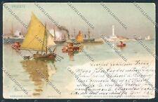 Trieste Barison cartolina C2568 SZG