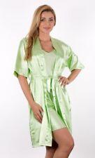 Ladies Babydoll 093 Nightgown Sheer Robe Long Peignoir Silky Nightie Comfortable
