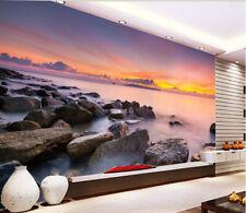 3D Soirée.Riverain Photo Papier Peint en Autocollant Murale Plafond Chambre Art