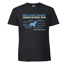 Cocker Spaniel Unisex T-Shirt Innovation Hundemotiv Spanier Cockie