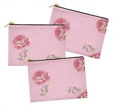 S4Sassy floral lot de 3 sacs à maquillage maquillage-FL-820J