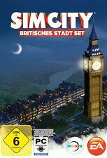 SimCity: Britisches Stadt-Set (Download Code) (PC, 2013, DVD-Box)