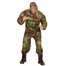 SOLDATI muscolo costume Esercito maschile MILITARE RAMBO ARMY