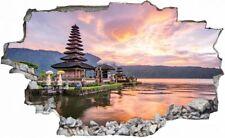 Bali Indonesien Sonnenuntergang Wandtattoo Wandsticker Wandaufkleber C0800