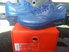 Womens Nike Air Max 1 I Pinnacle PRM Premium Leather Insignia Blue 95 839608 400