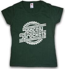 SPACELY'S SPACE SPROCKETS INC. LOGO DAMEN T-SHIRT Comic Symbol Firmenlogo