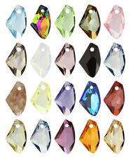 Genuine swarovski cristaux vertical galactique 6656 Pendentifs * beaucoup de couleurs et tailles