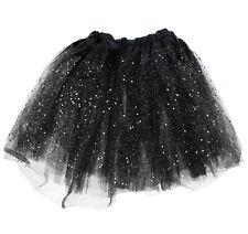 Zac's Alter Ego® Fancy Dress Glitter & Sequin Children's 3-Layer Tutu Skirt