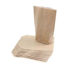 BODA Papierbeutel braun mit Pergamenteinlage Papiertüte groß