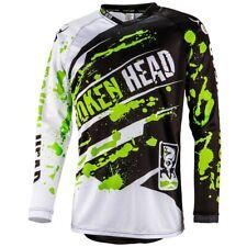 ABBIGLIAMENTO MOTO Broken Head Mx Jersey VERDE THUNDER #0930
