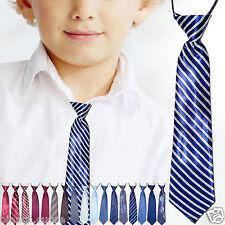 CRAVATTA BAMBINO blu mod.3 cravattino 2/16 anni ENTRA TANTI COLORI art. D0481