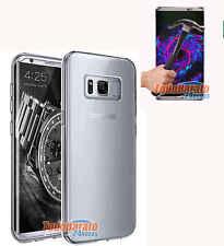 Funda TPU LISA TRANSPARENTE Samsung Galaxy S8 PLUS + PROTECTOR CRISTAL TEMPLADO