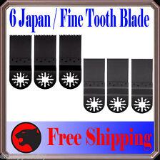 6 Japan/Fine Wood Oscillating MultiTool Saw For Blade Fein Multimaster Genesis
