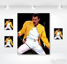 Freddie Mercury - 8 - Quadro stampa su Tela Pelle Canvas Dipinto Arte Moderna