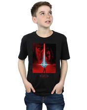 Star Wars Garçon The Last Jedi Red Poster T-Shirt