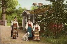 STOCKHOLM(Sweden) :Skansen Soracker- traditional costumes