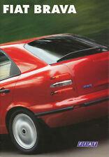 FIAT BRAVA PROSPEKT 11/95 brochure auto prospetto automobili auto Italia broschyr 1995