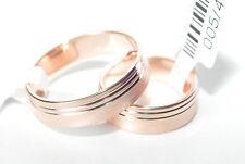 1 Paar Trauringe - Silber 925 vergoldet 5µ - Top Qualität - Breite 5,6mm - TOP
