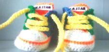 Bebé de ganchillo hecho a mano Zapatos Zapatillas Sneakers Boties