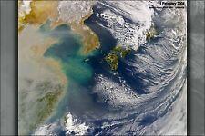 Poster, Many Sizes; Haze Over East China Sea, Feb 2004