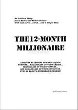 12 Month Millionaire - Vincent James - Original 300+