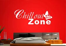 WandTattoo  Chillout Zone schmetterling Wandfolie wzt29
