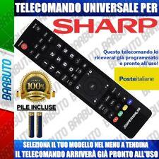 TELECOMANDO UNIVERSALE SHARP CLICCA IL TUO MODELLO LO RICEVERAI GIA PRONTO