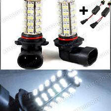 9005 White LED bulbs w/ Decoder for High Beam / Daytime Running Lights DRL