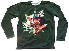 MEXICAN JAMAICA MEN Joint Kiffer Fun Vintage Desinger Langarm T-Shirt G:M 50