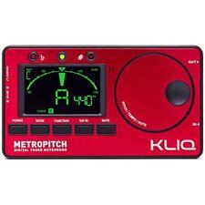 KLIQ MetroPitch - Metronome Tuner - with Guitar, Bass, Violin, Ukulele, and
