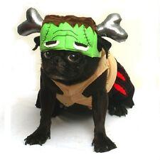 Barkenstein Dog Frankenstein Costumes - Halloween Green Monster Dogs Apparel