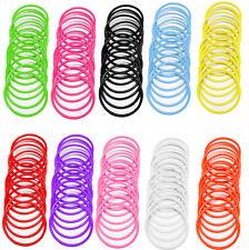 Années 80 neon gummies gems caoutchouc jelly bracelet jonc bracelet shag band goth uk