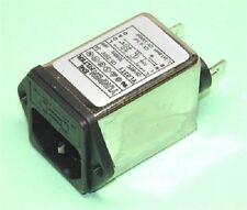 Iec inlet fondue filtre compact 3-10a totalement approuvés vendeur britannique uk stock