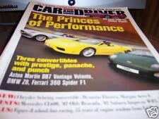 Car and Driver Magazine 4/2001 500-hp 2003 Viper