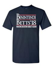 "Mookie Betts Andrew Benintendi Boston Red Sox ""18""  T-Shirt"