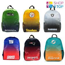 OFFICIAL NFL AMERICAN FOOTBALL CLUB TEAM BACKPACK TRAVEL SCHOOL BAG NEW