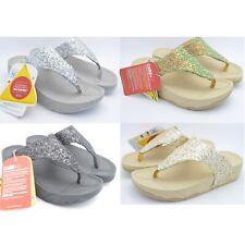 TONING FLIP FLOPS Ladies Womens Low High Wedge Heel Sandals Gym Fit Thong Shoes