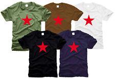 RED STAR Roter Stern - T-Shirt- Gr. S bis XXL