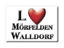 DEUTSCHLAND SOUVENIR - HESSEN MAGNET MÖRFELDEN WALLDORF (GROß GERAU)