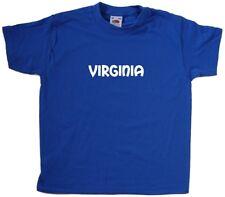 Virginia text Kids T-Shirt