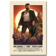 136401 LOGAN Wolverine 3 X Men Movie CANVAS PRINT Leinwand