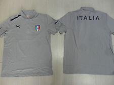 10103 ITALIA PUMA EURO 2012 PUMA ITALIA POLO GRIGIA RAPPRESENTANZA OFFICIAL PO