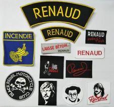 ecusson patch coluche michelin incendie black rebel motorcycle renaud phenix