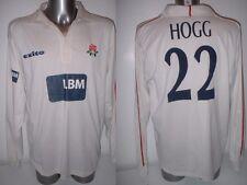 Lancashire Kyle Hogg 22 player worn Cricket Maglia Adulto Grande EXITO LBM