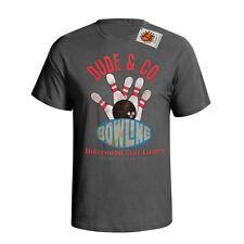 Dude & Co Bowling Hommes T-Shirt Movie inspire Big Lebowski Funny