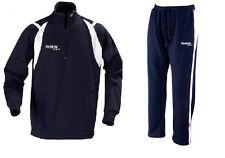 Reebok Sweatsuit Deluxe avec Zip Bleu Marine