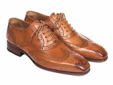 Paul Parkman Wingtip Oxfords Cognac Shoes (ID#5447-CGN)