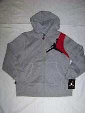 Nike Jumpman Youth Zip Up Hoodie NWT Retail $65 Gray